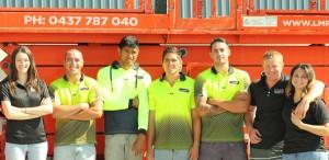 Team Photo Lee Meehan Roofing metal roofing Gold Coast